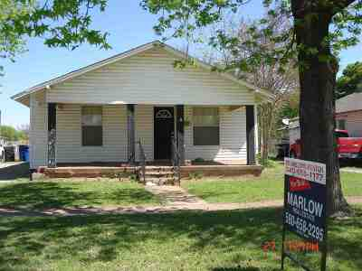 Single Family Home For Sale: 1223 W Beech
