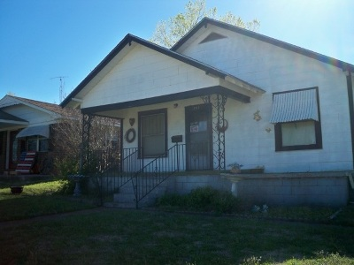 Rush Springs Single Family Home Active-Take Backups: 207 N Rush