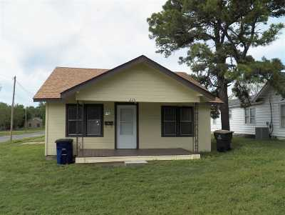 Duncan Single Family Home For Sale: 225 W Walnut
