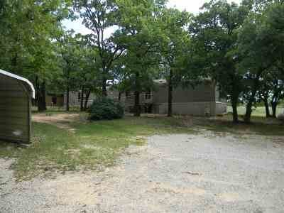 Comanche OK Single Family Home Active-Take Backups: $85,000