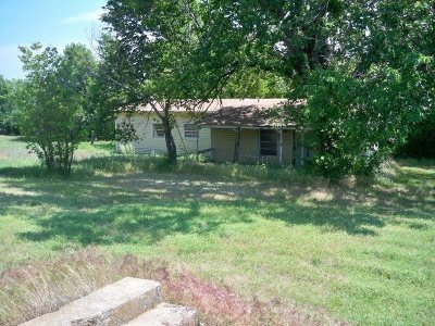 Rush Springs OK Single Family Home For Sale: $10,000