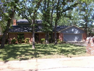 Duncan Single Family Home For Sale: 2907 Briarwood Dr