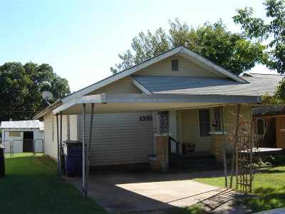 Duncan Single Family Home For Sale: 1310 W Beech Ave