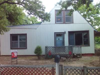 Marlow OK Single Family Home For Sale: $25,000