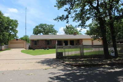 Marlow OK Single Family Home For Sale: $175,000