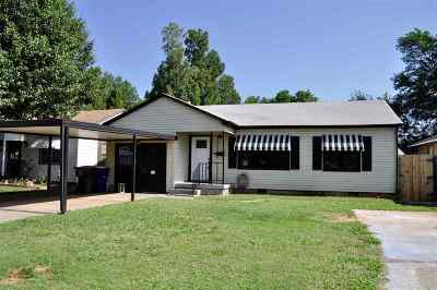 Duncan Single Family Home For Sale: 1303 W Poplar