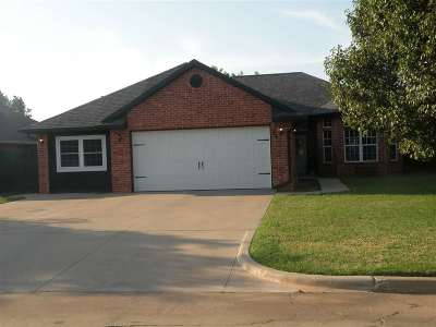 Duncan Single Family Home For Sale: 3421 Bates
