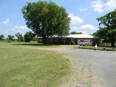 Duncan Single Family Home For Sale: 202103 E 1790 Rd