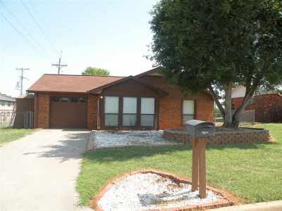 Duncan Single Family Home For Sale: 1609 W Glen Blvd