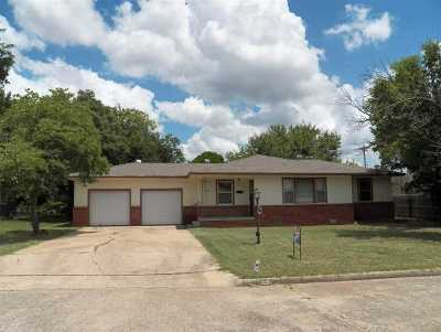 Duncan Single Family Home Active-Back On Market: 1703 W Birch Ave