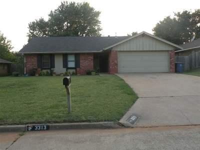 Duncan Single Family Home For Sale: 3313 Kristin Lane
