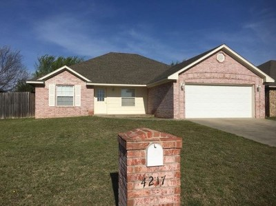 Single Family Home For Sale: 4217 Clear Springs Drive