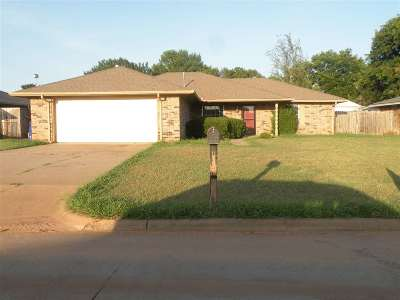 Duncan Single Family Home For Sale: 1806 Terrace Dr