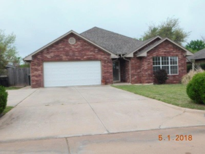 Duncan Single Family Home For Sale: 3422 Bates