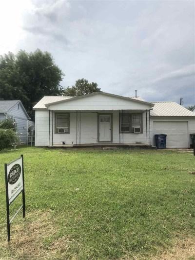 Duncan Single Family Home For Sale: 103 N D St.