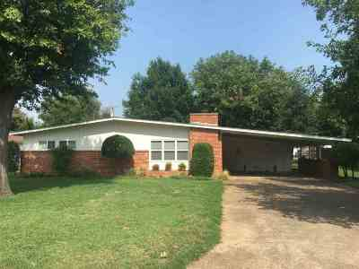 Marlow OK Single Family Home For Sale: $75,000
