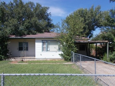 Duncan Single Family Home For Sale: 113 N A