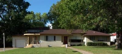 Duncan Single Family Home For Sale: 1109 W Elk Ave.