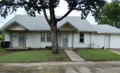 Duncan Single Family Home For Sale: 106 W Ash