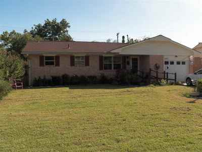 Duncan Single Family Home For Sale: 2112 W Randall Ave.