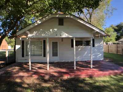 Duncan Single Family Home For Sale: 805 W Cedar