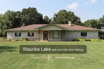 Comanche, Velma, Waurika,  Hastings Single Family Home For Sale: 185505 Mulberry Lane