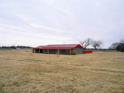 Comanche, Velma, Waurika,  Hastings Single Family Home For Sale: Rt 1 Box 17