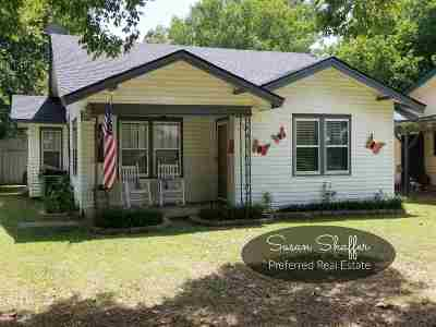 Duncan Single Family Home For Sale: 1308 W Pine Ave.