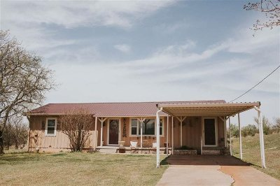 Comanche, Velma Single Family Home Under Contract: 216 E Oak Main