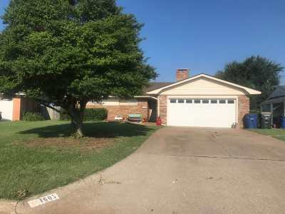Single Family Home For Sale: 1605 Indian Terrace