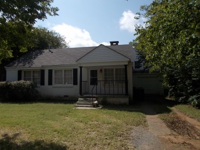 Duncan Single Family Home For Sale: 912 W Hackberry