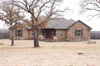 Marlow, Rush Springs Single Family Home For Sale: 170424 Cole Creek Drive