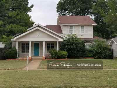 Duncan Single Family Home Under Contract: 913 Hickory