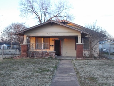 Duncan Single Family Home Under Contract: 807 W Hickory Ave