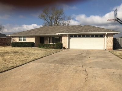 Duncan Single Family Home For Sale: 1801 Terrace Dr