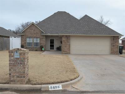 Duncan Single Family Home Under Contract: 3430 Bates Dr