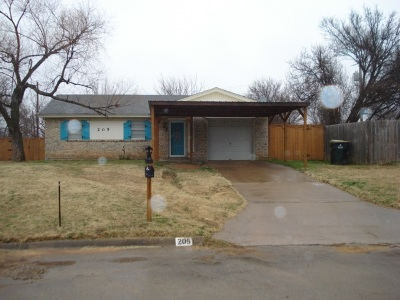 Duncan Single Family Home For Sale: 205 N I