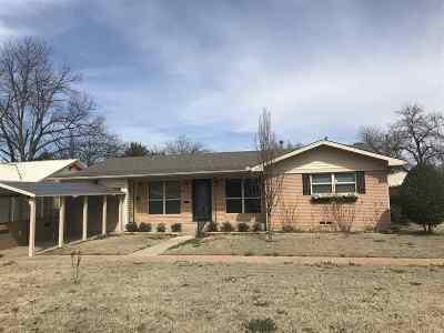 Duncan Single Family Home For Sale: 801 W Chestnut