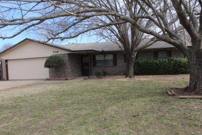 Duncan Single Family Home For Sale: 706 Westridge Dr.