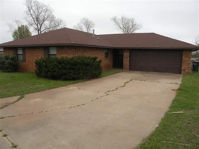 Duncan Single Family Home For Sale: 718 Drexal