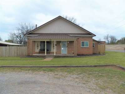 Comanche, Velma Single Family Home Active-Take Backups: 210 Walnut Ave