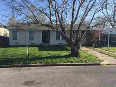 Comanche Single Family Home Active-Take Backups: 608 Clark