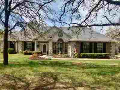 Marlow, Rush Springs Single Family Home Active-Take Backups: 4225 Lakeview Drive