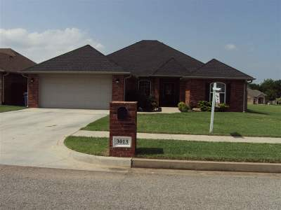 Duncan Single Family Home For Sale: 3013 Erica