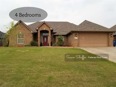 Duncan Single Family Home For Sale: 2607 Meadowview