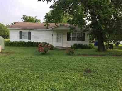Comanche Single Family Home For Sale: 807 Hickory Ave