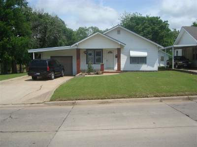 Duncan Single Family Home For Sale: 1311 W Beech