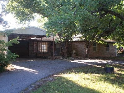 Comanche Single Family Home For Sale: 183260 Cedar Ln
