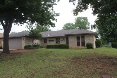 Duncan Single Family Home For Sale: 2202 Briarcrest