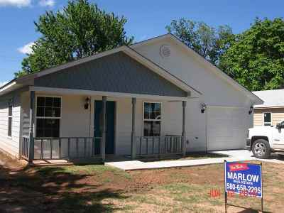 Single Family Home For Sale: 311 W Caddo